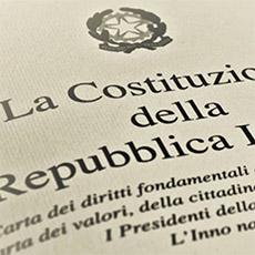 BIBLIOGRAFIA ART. 3 COSTITUZIONE ITALIANA